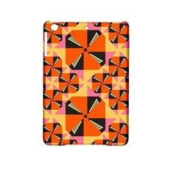 Windmill In Rhombus Shapes Apple Ipad Mini 2 Hardshell Case by LalyLauraFLM