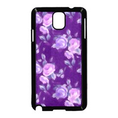 Vintage Roses Purple Samsung Galaxy Note 3 Neo Hardshell Case (black)