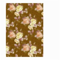 Vintage Roses Golden Small Garden Flag (two Sides) by MoreColorsinLife