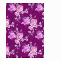 Vintage Roses Pink Small Garden Flag (two Sides) by MoreColorsinLife