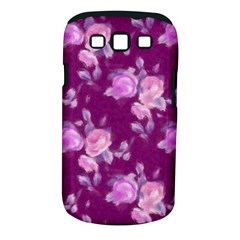 Vintage Roses Pink Samsung Galaxy S Iii Classic Hardshell Case (pc+silicone) by MoreColorsinLife