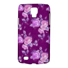Vintage Roses Pink Galaxy S4 Active by MoreColorsinLife