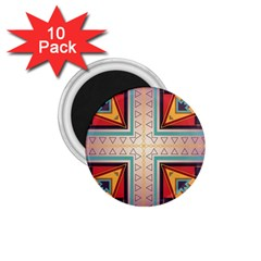 Cross And Other Shapes 1 75  Magnet (10 Pack)