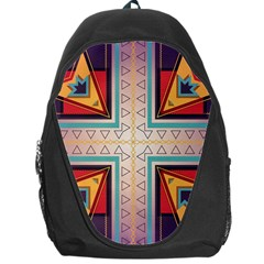 Cross And Other Shapes Backpack Bag by LalyLauraFLM