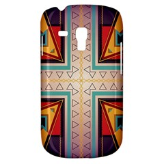 Cross And Other Shapes Samsung Galaxy S3 Mini I8190 Hardshell Case by LalyLauraFLM