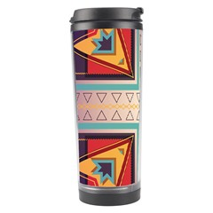 Cross And Other Shapes Travel Tumbler by LalyLauraFLM