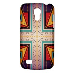Cross And Other Shapes Samsung Galaxy S4 Mini (gt I9190) Hardshell Case  by LalyLauraFLM