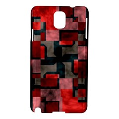 Textured Shapes Samsung Galaxy Note 3 N9005 Hardshell Case by LalyLauraFLM