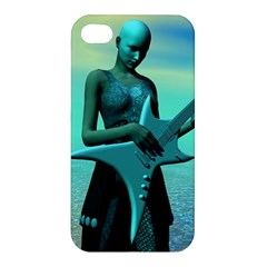 Sad Guitar Apple Iphone 4/4s Hardshell Case by icarusismartdesigns
