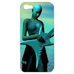 Sad Guitar Apple Iphone 5 Hardshell Case by icarusismartdesigns