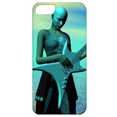 Sad Guitar Apple Iphone 5 Classic Hardshell Case by icarusismartdesigns