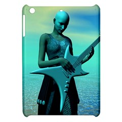 Sad Guitar Apple Ipad Mini Hardshell Case by icarusismartdesigns