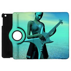 Sad Guitar Apple Ipad Mini Flip 360 Case by icarusismartdesigns