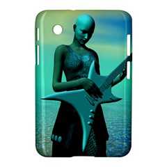 Sad Guitar Samsung Galaxy Tab 2 (7 ) P3100 Hardshell Case  by icarusismartdesigns