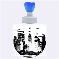 New York 2014 1206 Rubber Round Stamps (large) by JAMFoto
