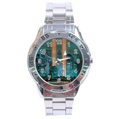 New York 2014 1206 Stainless Steel Men s Watch