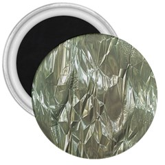 Crumpled Foil 3  Magnets by MoreColorsinLife