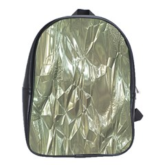 Crumpled Foil School Bags(large)  by MoreColorsinLife
