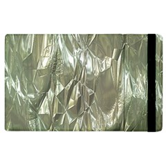 Crumpled Foil Apple Ipad 3/4 Flip Case by MoreColorsinLife