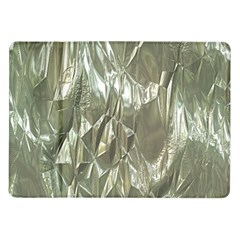 Crumpled Foil Samsung Galaxy Tab 10 1  P7500 Flip Case by MoreColorsinLife