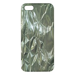 Crumpled Foil Iphone 5s Premium Hardshell Case by MoreColorsinLife