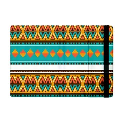 Tribal Design In Retro Colors Apple Ipad Mini Flip Case