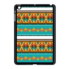 Tribal Design In Retro Colors Apple Ipad Mini Case (black) by LalyLauraFLM