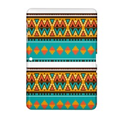 Tribal Design In Retro Colors Samsung Galaxy Tab 2 (10 1 ) P5100 Hardshell Case  by LalyLauraFLM