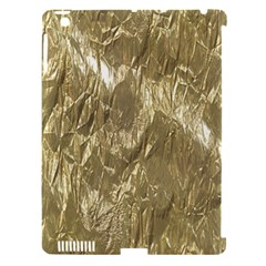 Crumpled Foil Golden Apple Ipad 3/4 Hardshell Case (compatible With Smart Cover)