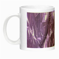 Crumpled Foil Lilac Night Luminous Mugs by MoreColorsinLife