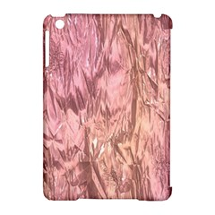 Crumpled Foil Pink Apple Ipad Mini Hardshell Case (compatible With Smart Cover) by MoreColorsinLife