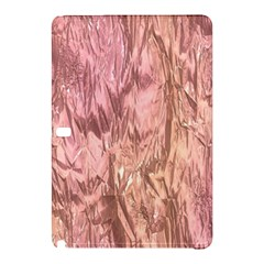 Crumpled Foil Pink Samsung Galaxy Tab Pro 12 2 Hardshell Case by MoreColorsinLife