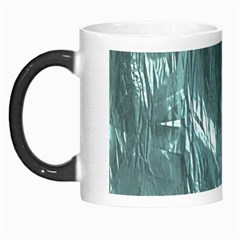 Crumpled Foil Teal Morph Mugs by MoreColorsinLife