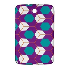 Cubes In Honeycomb Pattern Samsung Galaxy Note 8 0 N5100 Hardshell Case  by LalyLauraFLM