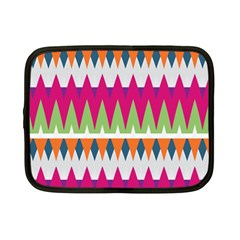 Chevron Pattern Netbook Case (small) by LalyLauraFLM