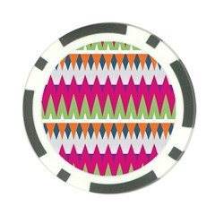Chevron Pattern Poker Chip Card Guard (10 Pack) by LalyLauraFLM