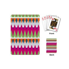 Chevron Pattern Playing Cards (mini) by LalyLauraFLM