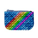 Rainbow Scales 2 Coin Change Purse Front