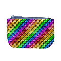 Rainbow Scales 3 Coin Change Purse by Ellador
