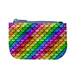 Rainbow Scales 3 Coin Change Purse Front
