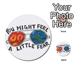 Little Fear Multi Purpose Cards (round)  by northerngardens