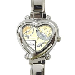 Tearespite Heart Italian Charm Watch by northerngardens