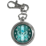 Snowboarder With Snowboard Key Chain Watches Front