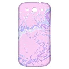 Unique Marbled 2 Baby Pink Samsung Galaxy S3 S Iii Classic Hardshell Back Case