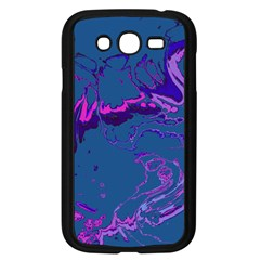 Unique Marbled 2 Blue Samsung Galaxy Grand Duos I9082 Case (black) by MoreColorsinLife