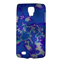 Unique Marbled Blue Galaxy S4 Active by MoreColorsinLife