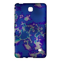 Unique Marbled Blue Samsung Galaxy Tab 4 (7 ) Hardshell Case  by MoreColorsinLife