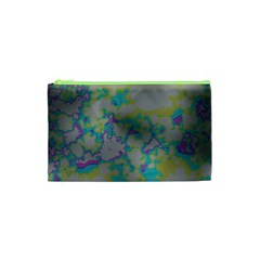 Unique Marbled Candy Cosmetic Bag (xs) by MoreColorsinLife