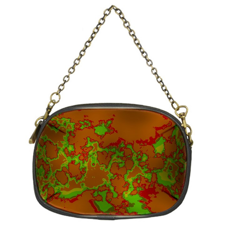 Unique Marbled Hot Chain Purses (One Side)