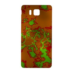 Unique Marbled Hot Samsung Galaxy Alpha Hardshell Back Case by MoreColorsinLife
